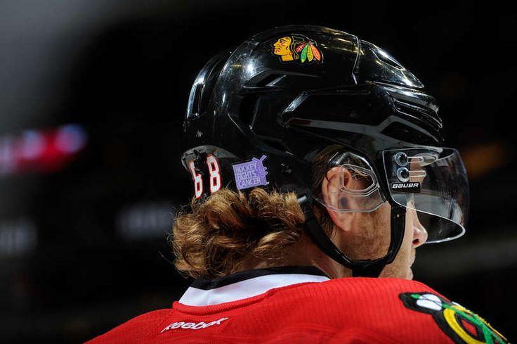 Patrick Kane, Hockey Fights Cancer, 10/26/14