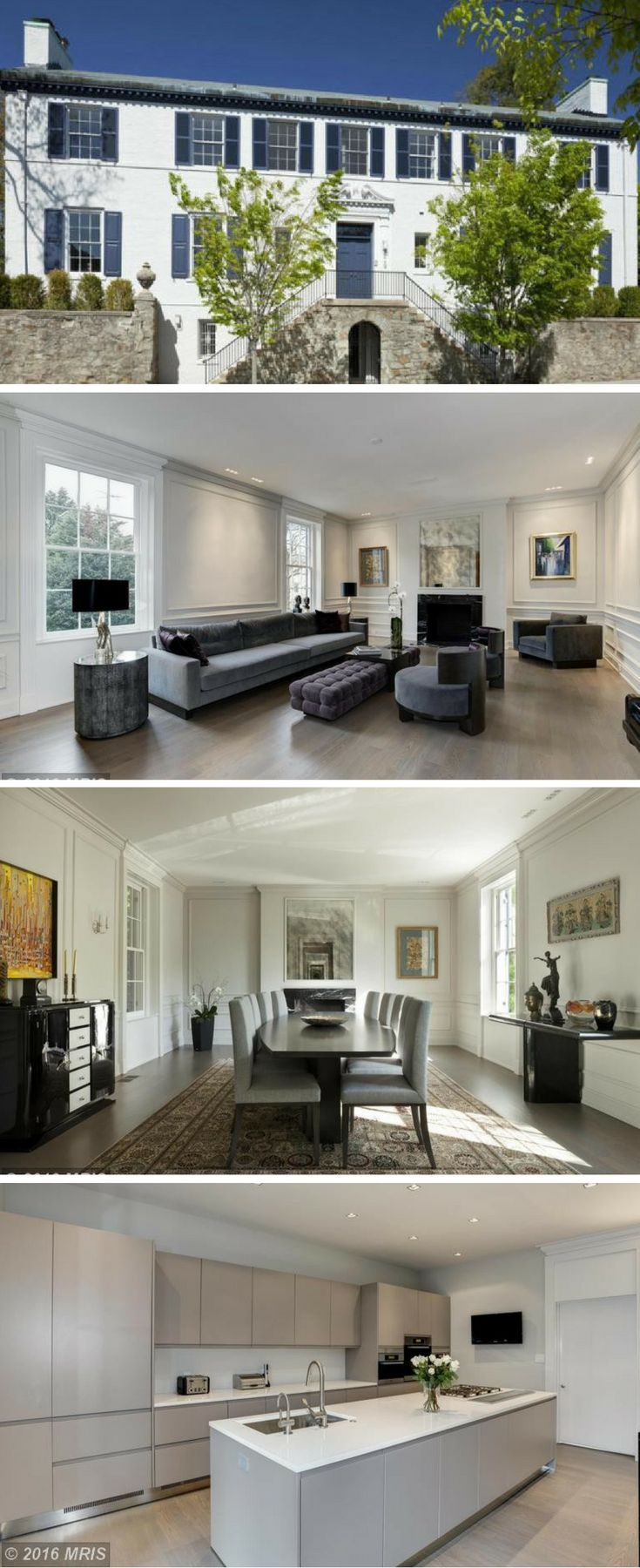 Prepare to meet your new first daughter-to-be, Washington, DC! Ivanka Trump and her husband, Jared Kushner, have reportedly picked up a six-bedroom, seven-bath house in the upscale neighborhood of Kalorama. Take a peek inside!