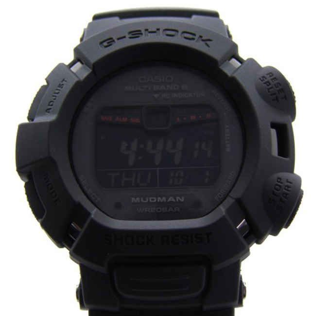 Casio G-Shock - GW-9010MB MUDMAN   Man In Matte Black Edition - Freshness Mag