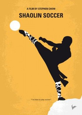 minimal minimalism minimalist movie poster chungkong film artwork design shaolin soccer