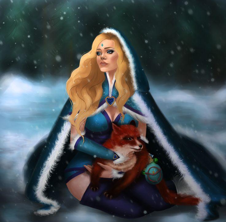 ArtStation - Crystal Maiden, Anastasia Mucha