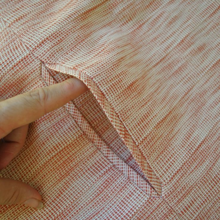 My example shows a skirt pocket with a 16cm length opening edge bordered by 1cm width welts, although obviously all measurements can easily be altered to give any width of welt or pocket desired. Apply a strip of iron-on interfacing to the wrong side of the garment, where welt pockets are to be situated. Fold …