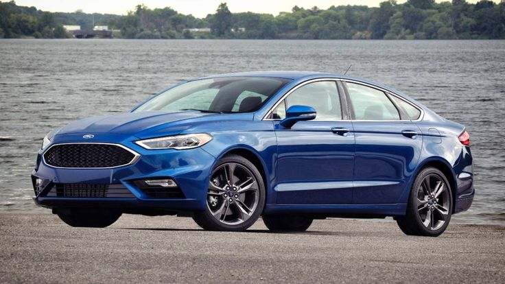 2017 Ford Fusion Sport Photo 1