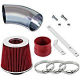 Deals week 98 99 00 01 02 03 04 05 BMW E46 3-Series Short Ram Intake Sr-bm3 with Red Filter1 sale