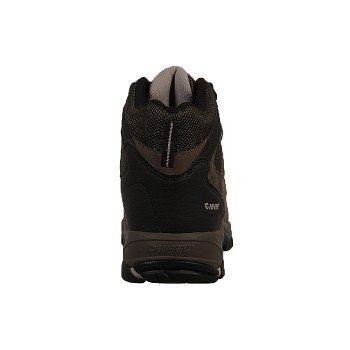Hi-Tec Men's Logan Medium/Wide Waterproof Hiking Boots (Brown/Olive Suede)