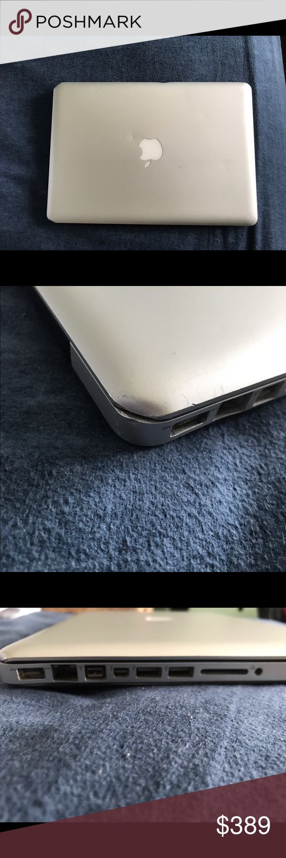 "2011 MacBook Pro Apple MacBook Pro A1278 13.3"" Laptop - MC724LL/A (February, 2011). Has a few dents and scratches, but works just fine. Apple Accessories Laptop Cases"