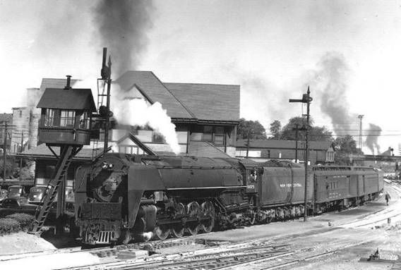 Nyc 6025 With Passenger Train Locomotive Is An Alco 4 8 4