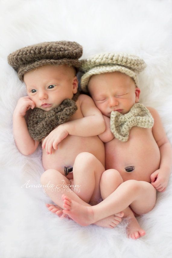 Newborn twin outfit newborn twin photo prop by littlemommaboutique 45 00