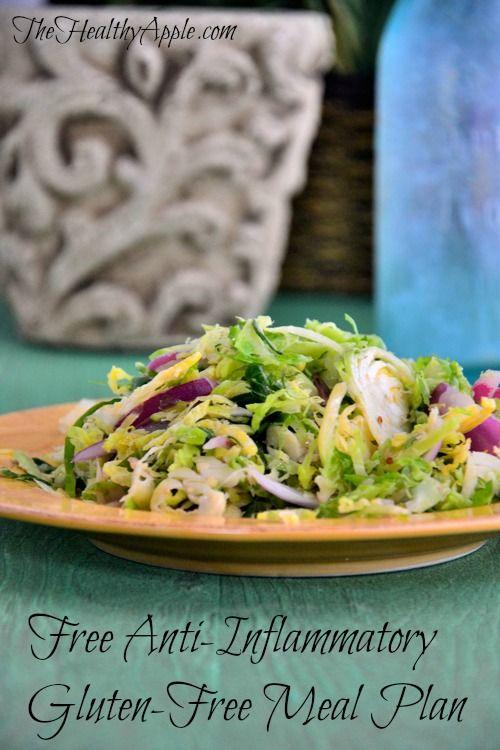 Free Anti Inflammatory Meal Plan Gluten Free Recipes Amp Information Pinterest Facebook