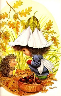 Victoria Plum and the Hedgehog - loved the illustrations.