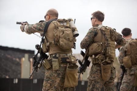 marine recon | Images: Maintaining marksmanship: Force Recon Marines fire away [Image ...