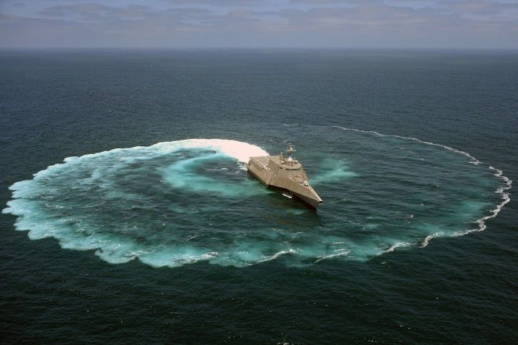 Some people drive fast cars. We drive fast and agile ships like USS Independence (LCS 2).