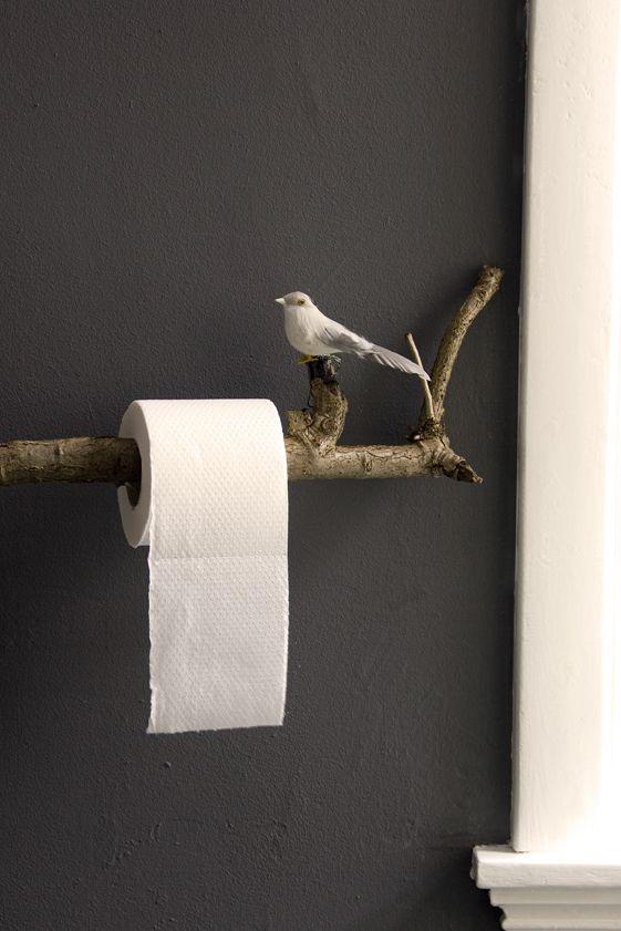 La branche à oiseau comme support
