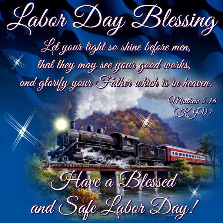 Good Morning Everyone, Happy Sunday. I pray that you have a safe and blessed Labor Day!!