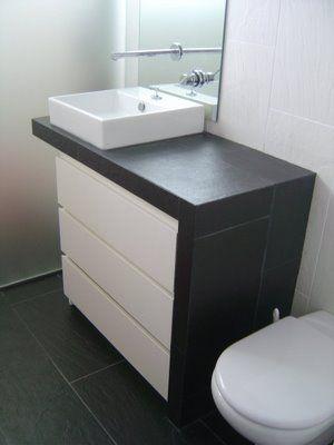DIY mueble bajolavabo Piratas de Ikea