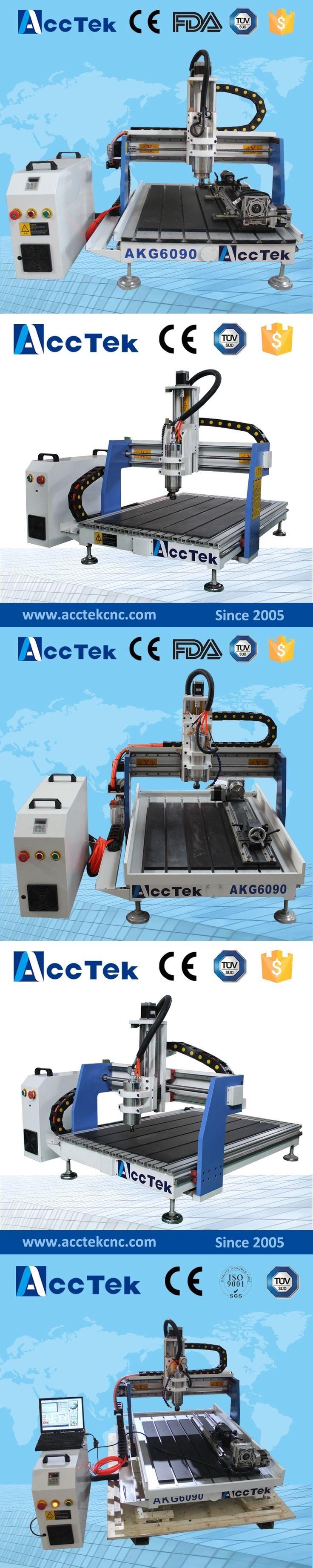 Acctek hot sale cnc router machine AKG6090/6012/6040 mini wood metal cnc milling engraving machine
