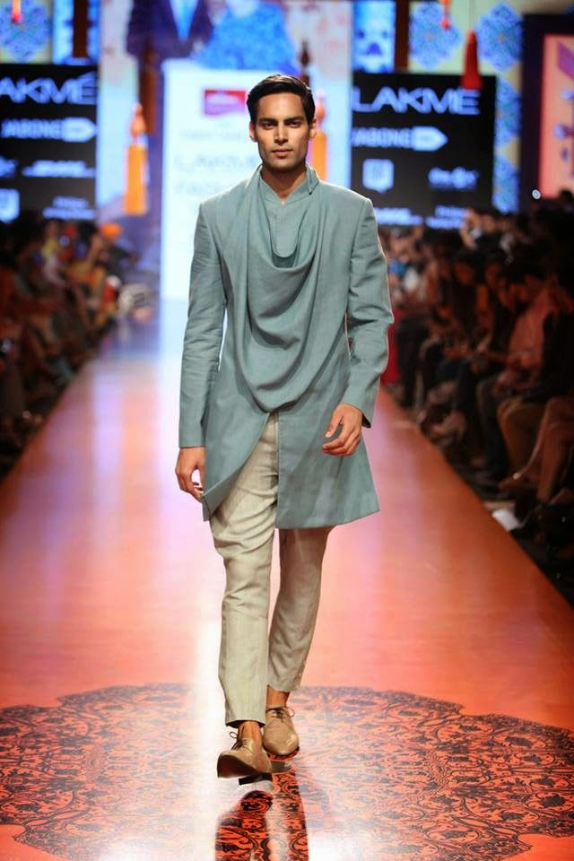 """Tarun Tahiliani presents an Artsy collection inspired by the works of 'The Singh Twins' """" Lakme Fashion Week S/R15 #mennesslife #mennesstyle #fashionformen #menswear #fashiontrends2015 #formen #menness"""