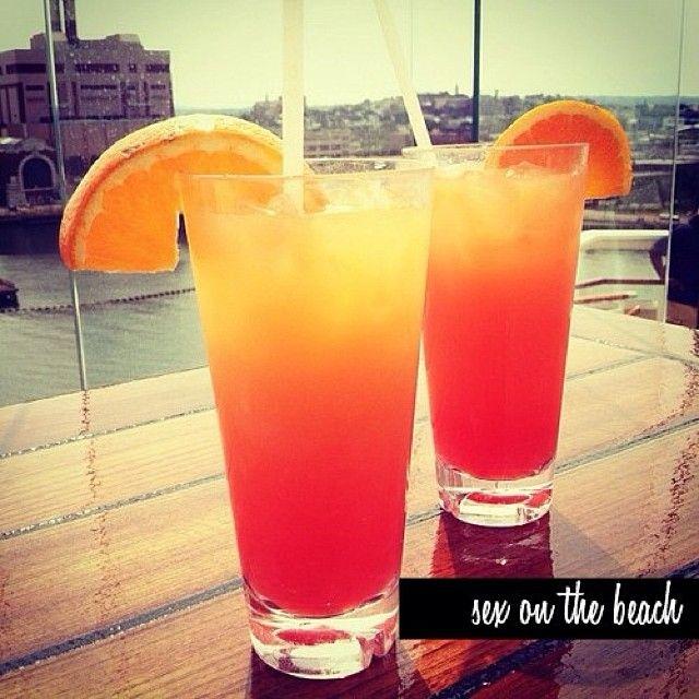 Sex On The Beach Vodka Peach Schnapps Orange Juice  Cranberry Juice