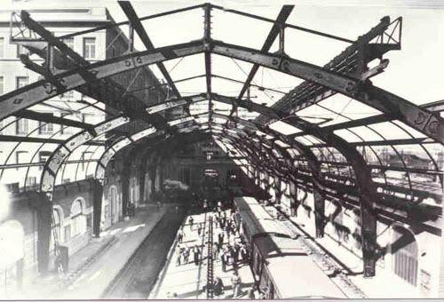 """Αthens """"Electric Railway""""  Piraeus station(1926)"""