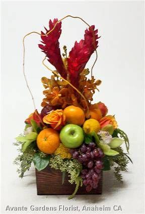 fruit floral arrangements | ... Gallery - Anaheim, CA : Seald Sweet Fruit with Flowers Arrangement