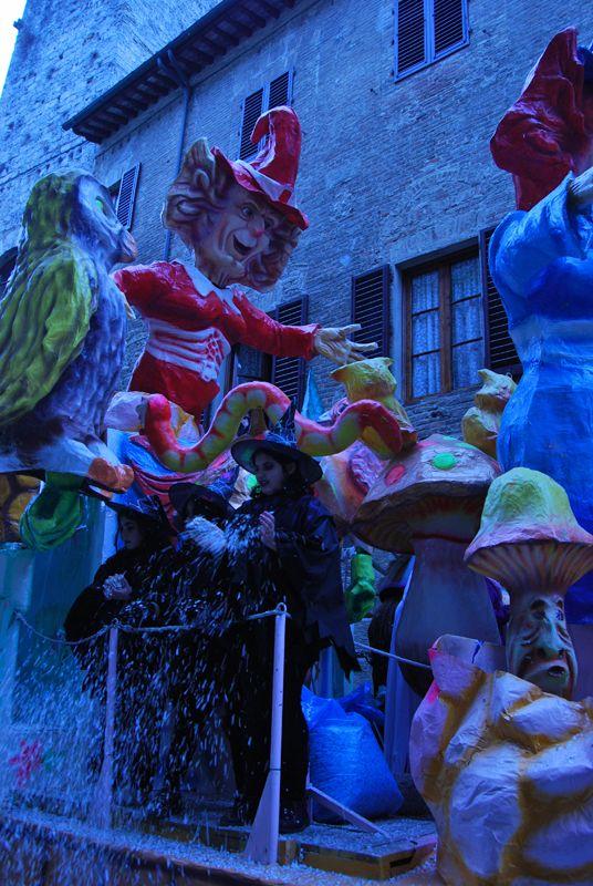 Carnival in Tuscany
