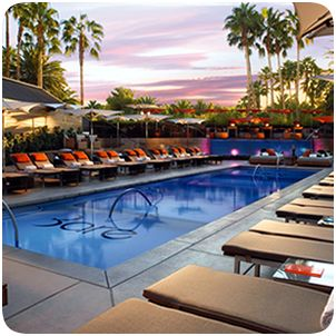 Las Vegas Bars and Lounges - Bare Pool Lounge at The Mirage-----VIP status!
