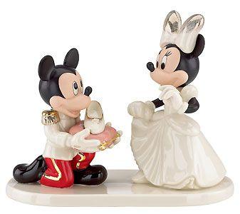 Mickey Mouse - Minnie's Prince Charming - Lenox - Classics Lenox - World-Wide-Art.com - $119.00