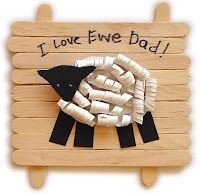 Father's Day Gift: Father'S Day Gifts, Crafts Ideas, Sheep Crafts, For Kids, Father Day Gifts, Fathersday, Fathers Day Gifts, Preschool Crafts, Art Projects