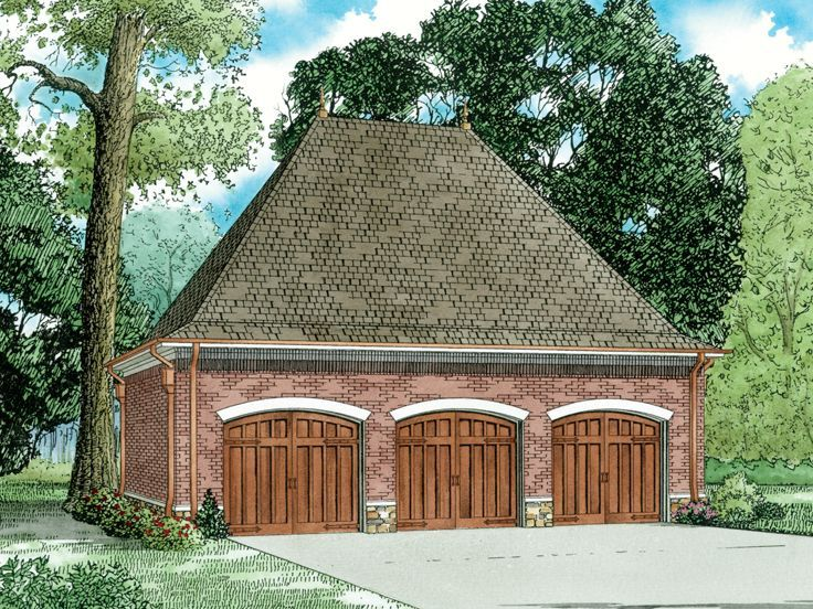 74 Best Images About 3-Car Garage Plans On Pinterest
