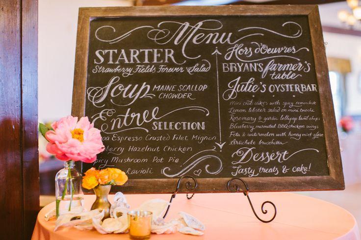 Calligraphy: Chavelli - http://www.stylemepretty.com/portfolio/chavelli Event Design & Planning: Maine Seasons Events - http://www.stylemepretty.com/portfolio/maine-seasons-events- Photography: Rebecca Arthurs - http://www.stylemepretty.com/portfolio/rebecca-arthurs   Read More on SMP: http://www.stylemepretty.com/2015/02/06/coastal-glamour-maine-wedding/