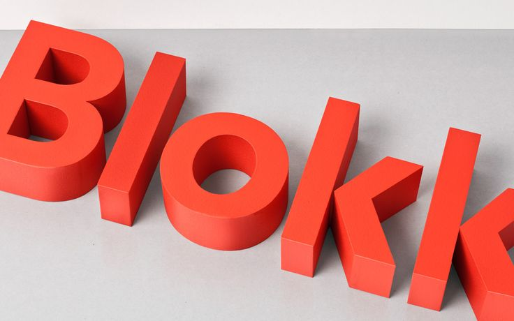 3D type, delicious!: Blokk Identity, Logos Work, Crafts League, Blokk Signs, Design Service, 3D Logos, Graphics Design, Branding Identity, Corporate Branding
