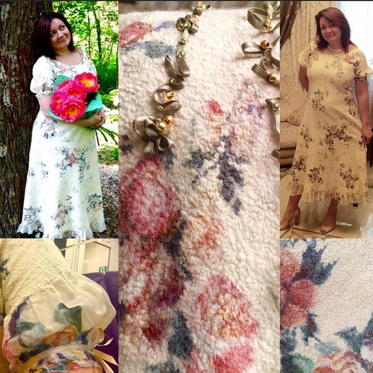 """11-13 ноября: Оксана Ницуленко. Мастер-класс """"Валяем нуно-платье. Индивидуальный стиль"""" http://xn--80aa2aygi.xn--p1ai/blog/master-klassy/blog_40aad01be8aecc42322edf6967b57c4b3c11dae9/  У каждой женщины в гардеробе есть много любимых платьев! А есть ли у вас то самое любимое, которое хочется носить каждый день и в котором вы чувствуете себя королевой?   Потрясающе объемный практический мастер-класс по созданию войлочного платья. Все подробности по ссылке.😍"""