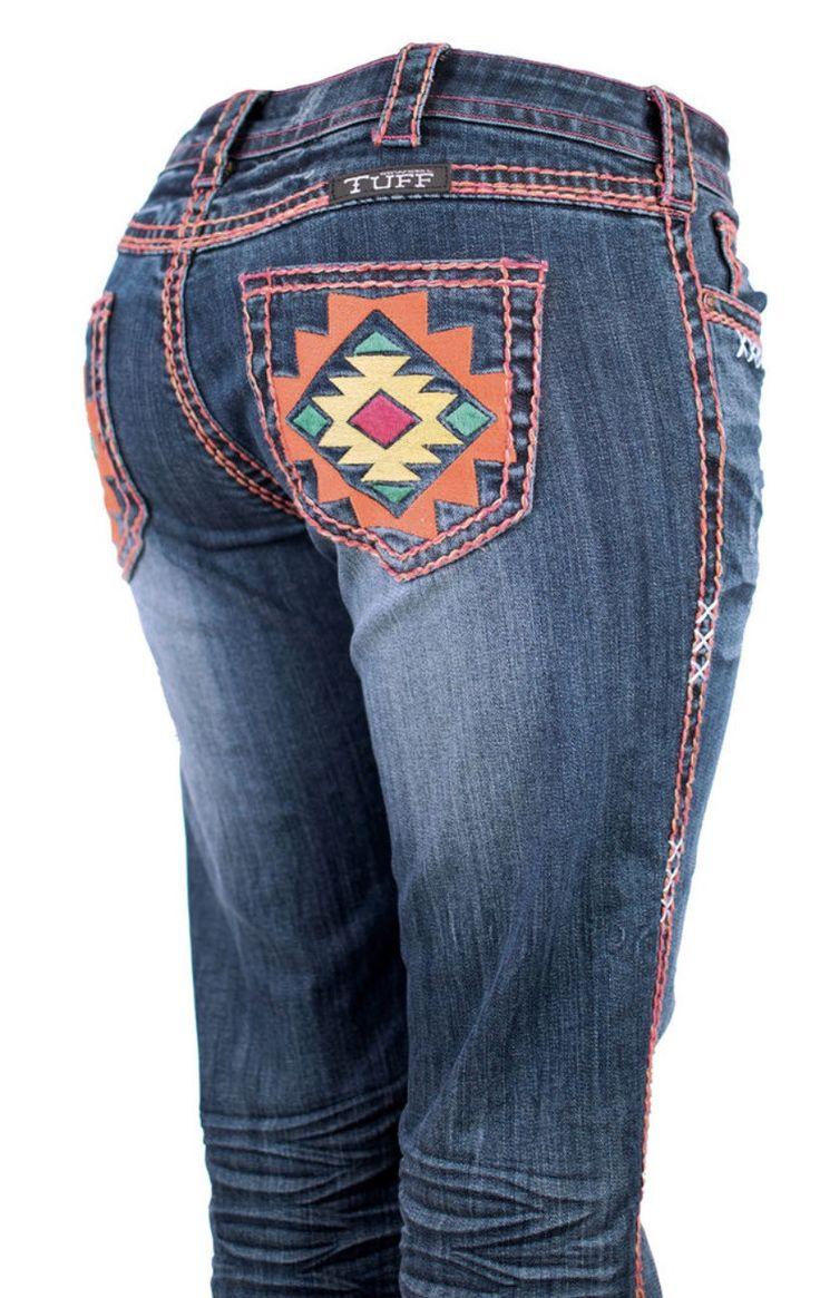 Cowgirl Tuff Jeans - Southwest Vibe