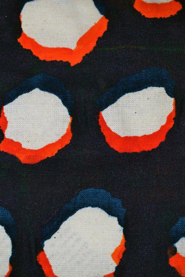 print detail in cotton fabric / Javiera Edwards javieraedwards@yahoo.es
