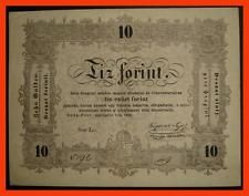 HUNGARY/ 10 FORINT 1848  P.S 117 / VF-XF BANKNOTE