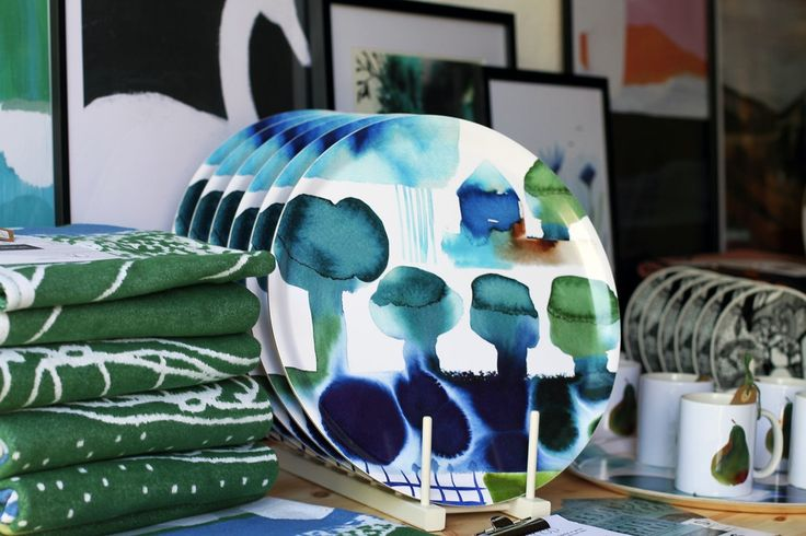 "Tray ""Vår"" design Patternplan by Anette Carlsson Moberg"