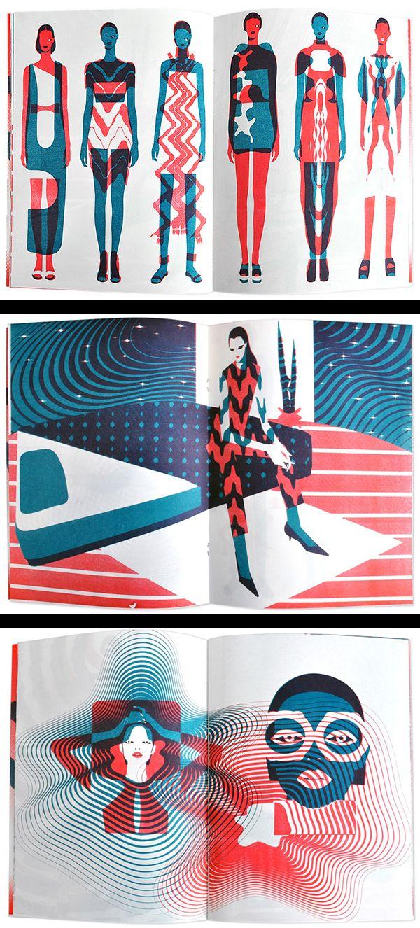 Fashion illustration - love these!