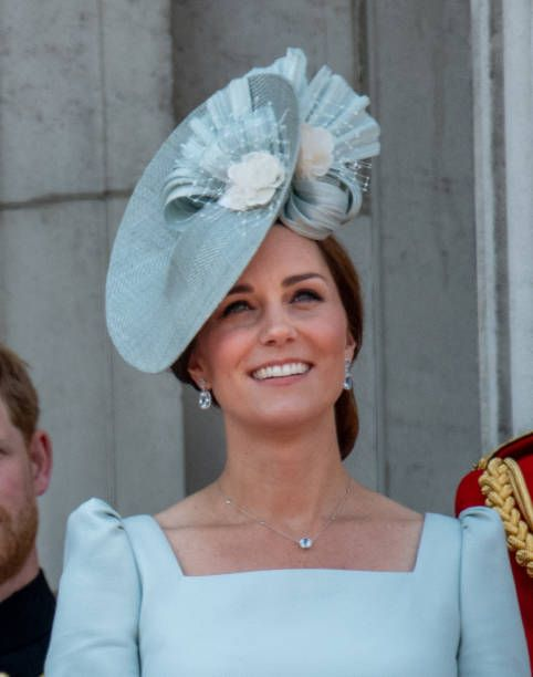 5884a739254 Catherine Duchess of Cambridge during Trooping The Colour 2018 on June 9  2018 in London England