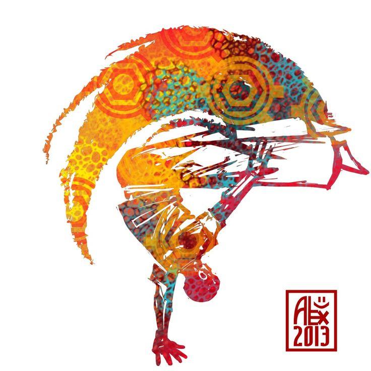Encres : Capoeira – 527 [ #capoeira #digital #illustration]