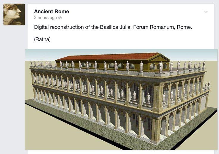 Basilica Julia [ROME]