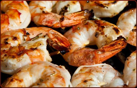 Few people know that briefly brining shrimp in salt water dramatically improves their flavor and texture. The mustard sauce, inspired by the popular sauce served at Joe's Stone Crab in Miami Beach, Florida, is a nice change from ketchup-based cocktail sauces. It is great with any seafood—tuna, swordfish, and of course, crab claws.