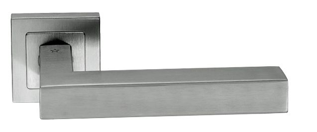 Tomba, Satin Stainless Steel Door Handles - SSL1401SSS (sold in pairs) None