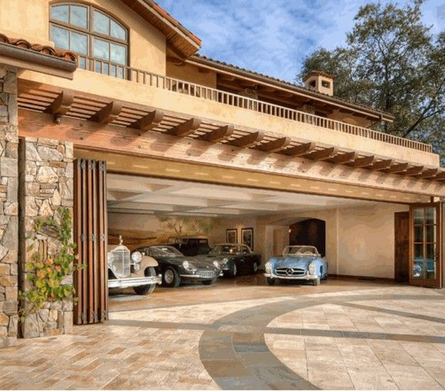 20 Modern Attached Garage Design Ideas With Pictures: 45 Best Images About Garage Pergola And Gazebo Ideas On