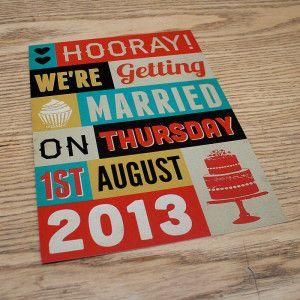 Plakát esküvői meghívó