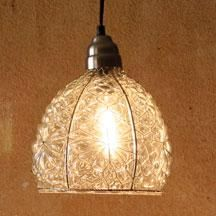 Love this hanging lamp