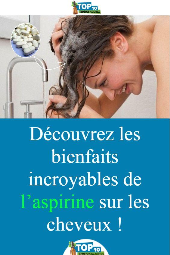 Découvrez les bienfaits incroyables de l'aspirine sur les cheveux !