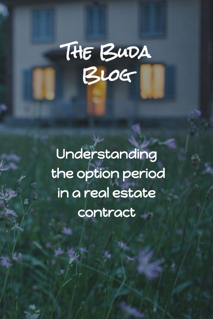 Understanding the Option Period in a Real Estate Contract.
