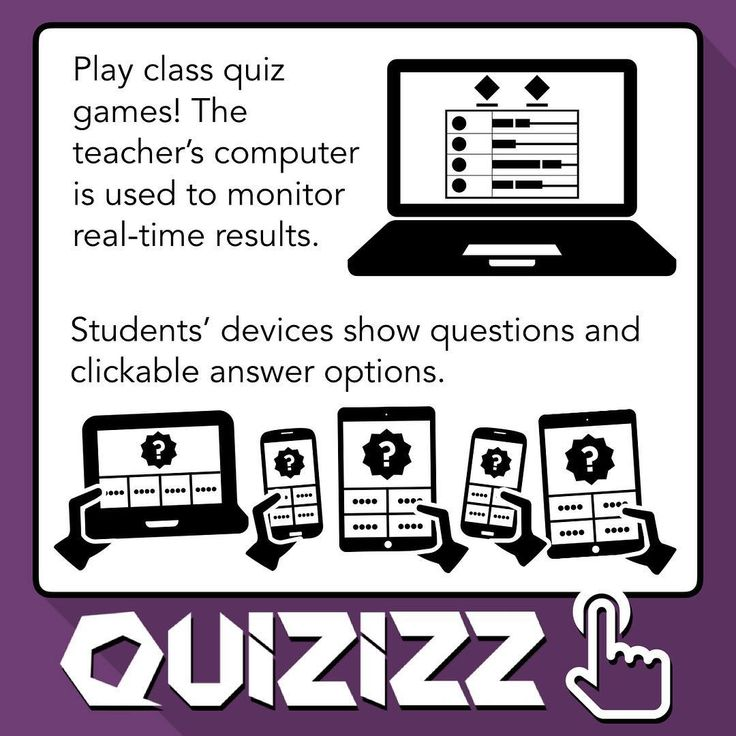 You can create and play class quiz games at quizizz.com. It's a lot like Kahoot. The major difference is that Quizizz displays the question and answer options on each students' screen. Kahoot, on the other hand, displays the question on one screen and students' screen show only clickable buttons.  LIke Kahoot, Quizizz is a class game where students play on their own devices by joining the teachers game with a code. The faster a student answers a question, the more points he or she earns…