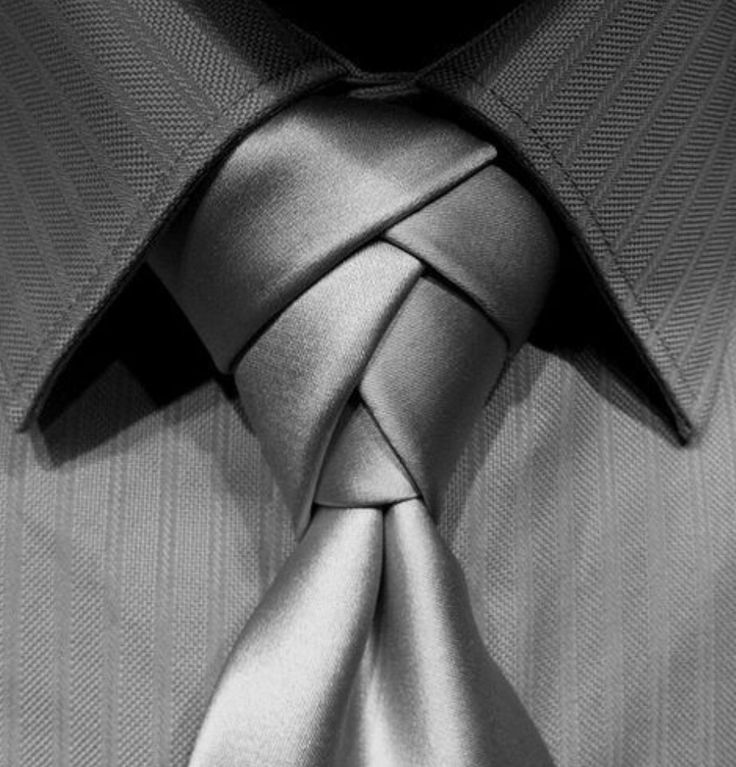 Creatively tied tie!
