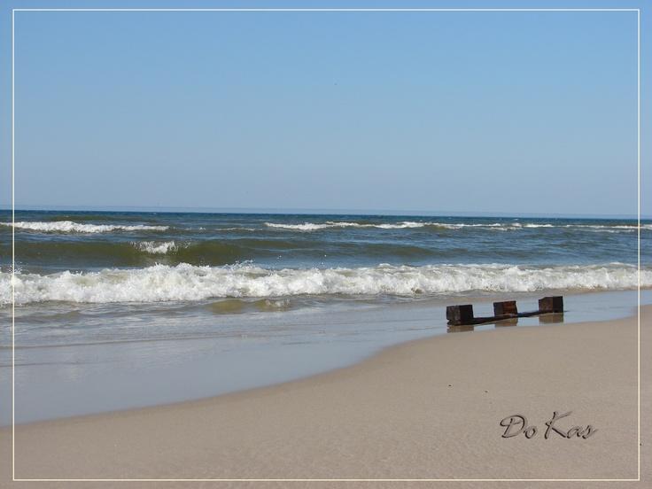 dzień na plaży w Łebie #leba, #ZdrowotelŁeba